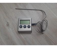 Термометр со щупом и звуковым оповещением