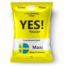 Турбо дрожжи YES! Maxi, 360 гр